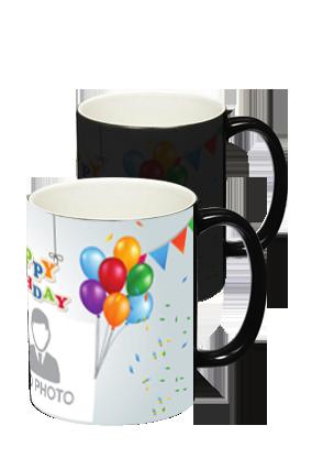 Happy Birthday Black Magic Mug
