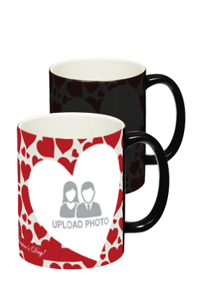 Big Hearts Black Magic Mug