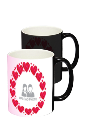 Heartful Black Magic Mug