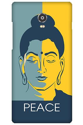 Amazing Lenovo Vibe P1 peace Mobile Cover