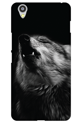 Custom Oneplus X Wolf Face Mobile Cover