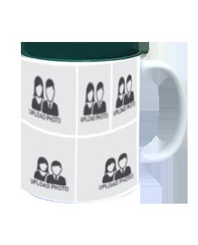 Personalized Love Needed Inside Green Mug