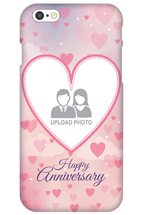 Personalized 3D-IPhone 6s Love & Heart Anniversary Mobile Cover