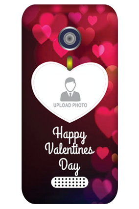 Customised Micromax A116 Dazzling Hearts Valentine Day Mobile Cover