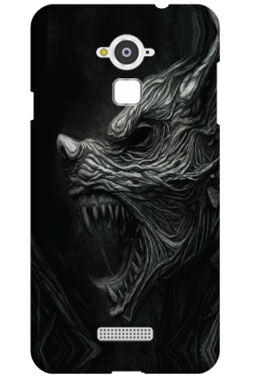 Custom Silicon - Coolpad Note 3 Haunted Wolf Mobile Cover