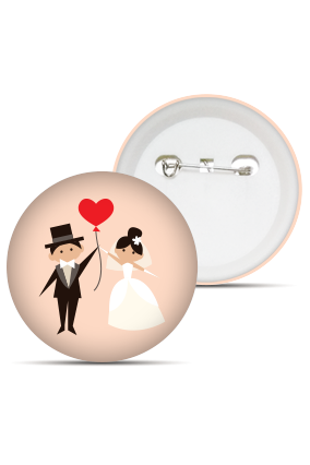 Premium Couple Love Badge