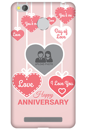 Xiaomi Redmi 3S Prime Love Dove Anniversary Mobile Cover
