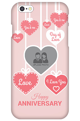 3D IPhone 6  Love Dove Anniversary Mobile Cover