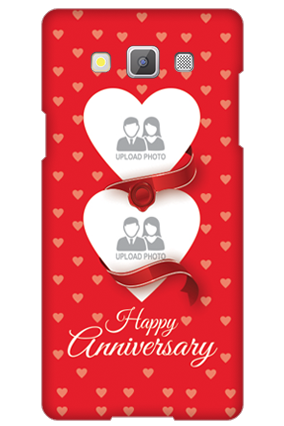 Samsung Galaxy A5 2015 Love & Heart Anniversary Mobile Cover