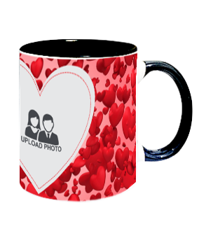 Customize Fabulous Inside Black Mug With Black Handle