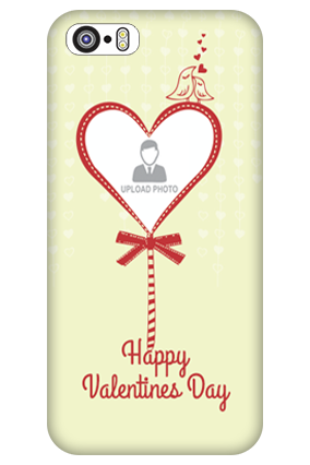 Personalised iPhone 5S Gift of Love Valentine Day Mobile Cover
