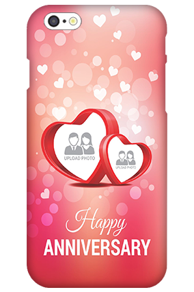 3D IPhone 6s  Floral Hearts Anniversary Mobile Cover