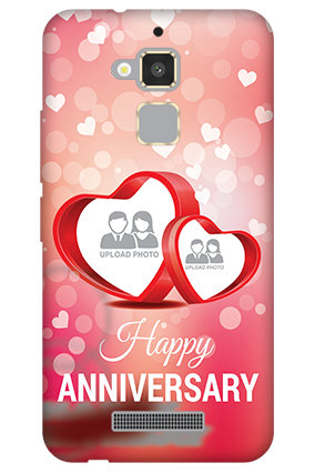 Asus Zenfone 3 Max Floral Hearts Anniversary Mobile Cover
