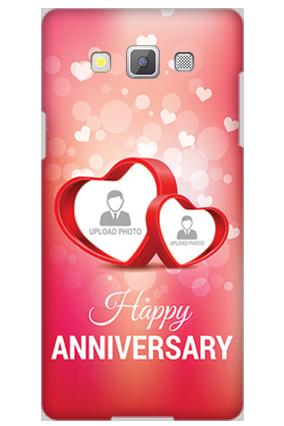 Designer Samsung Galaxy A5 2015 Love Dove Anniversary Mobile Cover