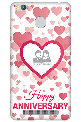 Xiaomi Redmi 3S Prime True Love Anniversary Mobile Cover