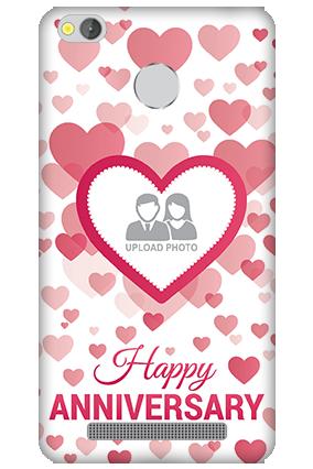 Xiaomi Redmi 3S Prime True Love Anniversary Mobile Cover