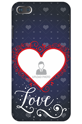 3D-IPhone 7 Plus Designer Heart Personalized Mobile Cover