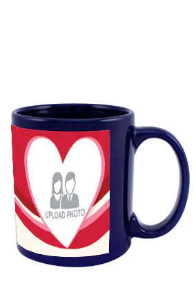 Dazzling Blue Patch Mug