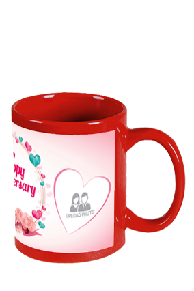 Cool Red Patch Mug