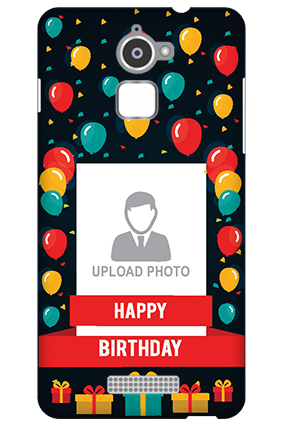 Personalized Coolpad Note 3 Lite Balloons Birthday Mobile Cover