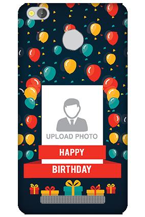 Xiaomi Redmi 3S Prime Balloons Birthday Mobile Cover