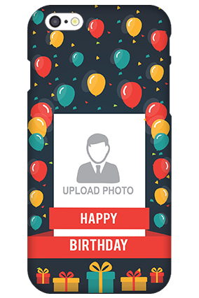 Customized 3D-IPhone 6s Balloons Birthday Mobile Cover
