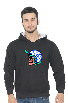 Trash Full Sleeves Black Hoodie