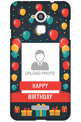 Silicon - Coolpad Note 3 Balloons Birthday Mobile Cover