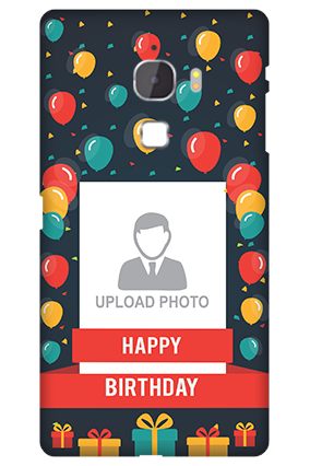 Letv Le Max Balloons Birthday Mobile Cover