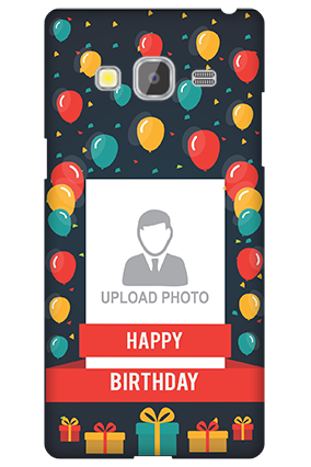 Samsung Galaxy Z3 Balloons Birthday Mobile Cover