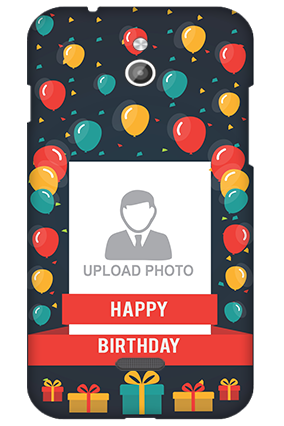 Silicon - InFocus M2 Balloons Birthday Mobile Cover