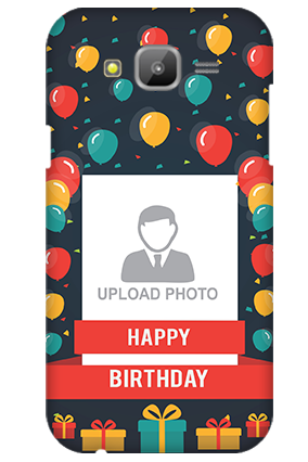 Samsung Galaxy J5 Balloons Birthday Mobile Cover