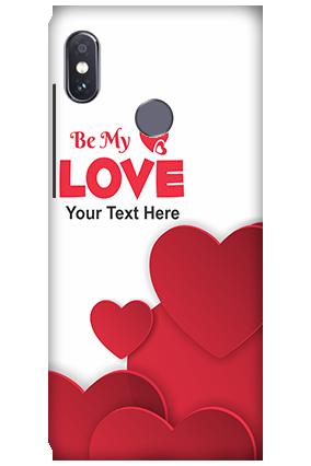 3D-Xiaomi Redmi Note 5 Pro Be My Love Mobile Cover