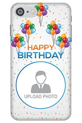 3D IPhone 7 Happy Birthday Mobile Cover