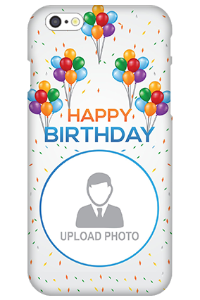 3D IPhone 6  Happy Birthday Mobile Cover
