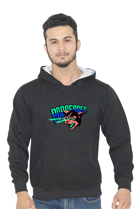 Possessed Full Sleeves Black Hoodie