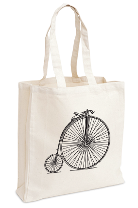 Cool White Tote Bag