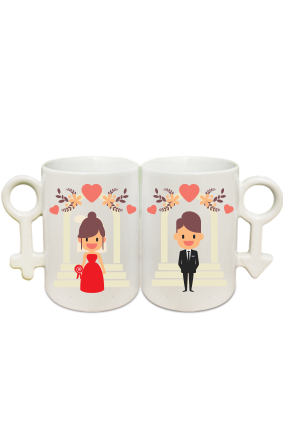 Cute Couple Coffee Mug