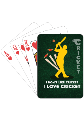 Cricket Buff Playing Cards