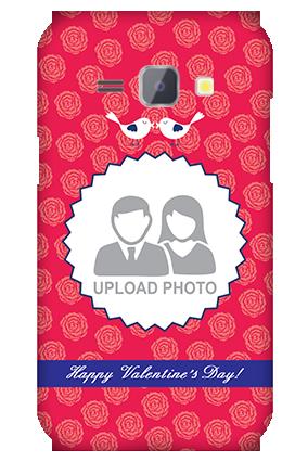 Silicon - Samsung Galaxy J1 Love Birds Valentine's Day Mobile Cover