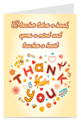 Custom Wonderful Thank You Card