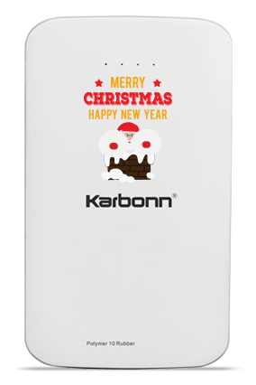 Christmas Greetings Karbonn 10000mAh Power Bank
