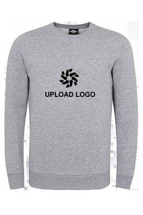 Umbro - Upload Logo Gray Sweatshirt