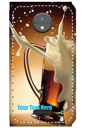 3D -  Motorola Moto C Cheers Mobile Cover
