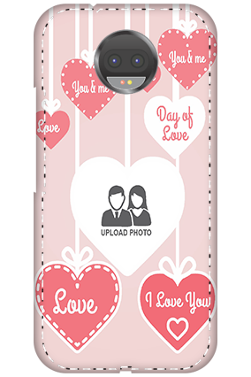 3D - Motorola Moto G5s Plus Love Dove Anniversary Mobile Cover