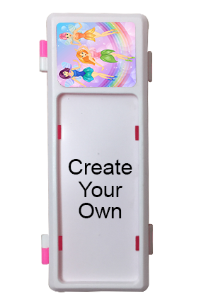 Create Your Own Personalized Pink Pencil Box