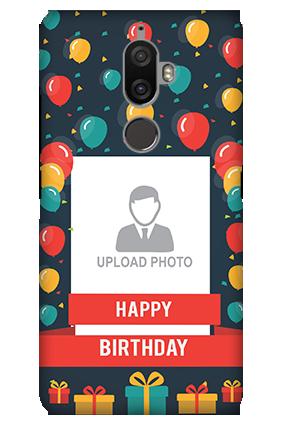 Customized 3D-Lenovo K8 Plus Balloons Birthday Mobile Cover