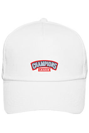 Champions League Designer Cotton White Cap