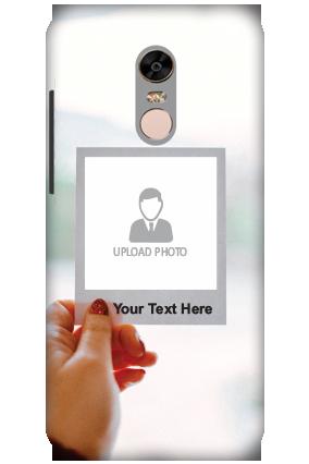 3D-Xiaomi Redmi Note 5 Photo PostCard Personalized Mobile Cover