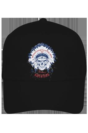 American Designer Cotton Black Cap